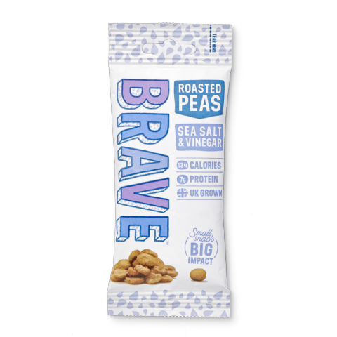 BRAVE Roasted Peas Sea Salt & Vinegar 35g